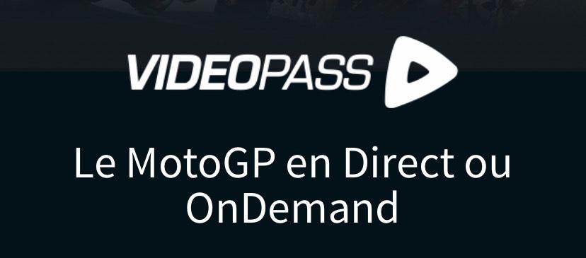 Acces videopass MotoGP Pré-saison (motogp.com)