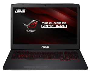 """PC portable gamer 17,3"""" Asus ROG G751JY-T7457T (i7 4750HQ, 8 Go RAM,1 To + SSD 128 Go, GeForce GTX980M)"""