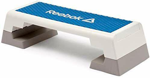 Plateforme d'entraînement Reebok Step - Blanc/Bleu