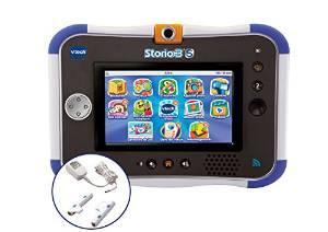 Tablette tactile Vtech Storio 3S Wifi -  Bleu + Power Pack