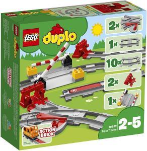 Jeu de construction LEGO Duplo 10882 - Les rails du train - Clisson(44)