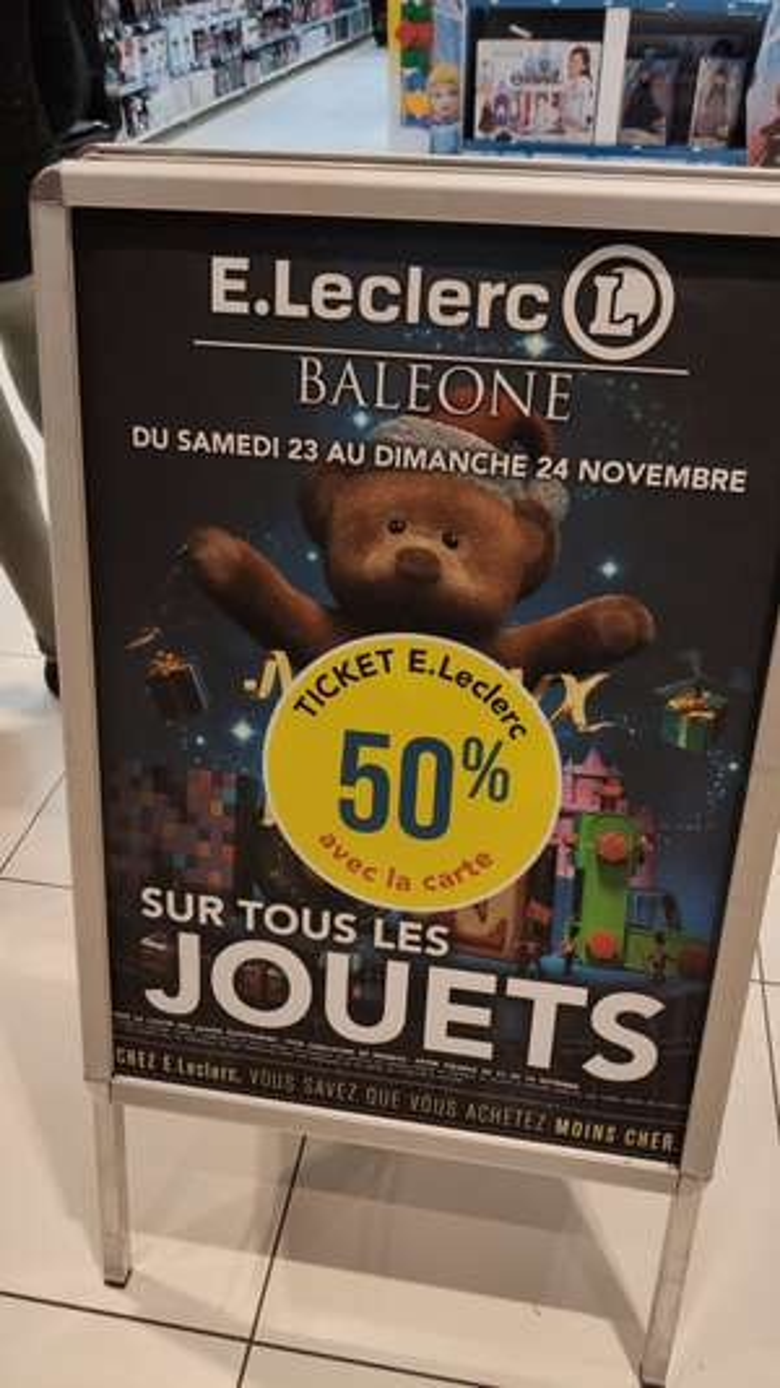 -50% en remise fidélité sur tous les jouets - Baleone Ajaccio (2A)