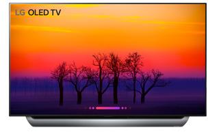"""TV 77"""" LG OLED77C8 - 4K UHD Triple Tuner, HDR, OLED, Smart TV"""