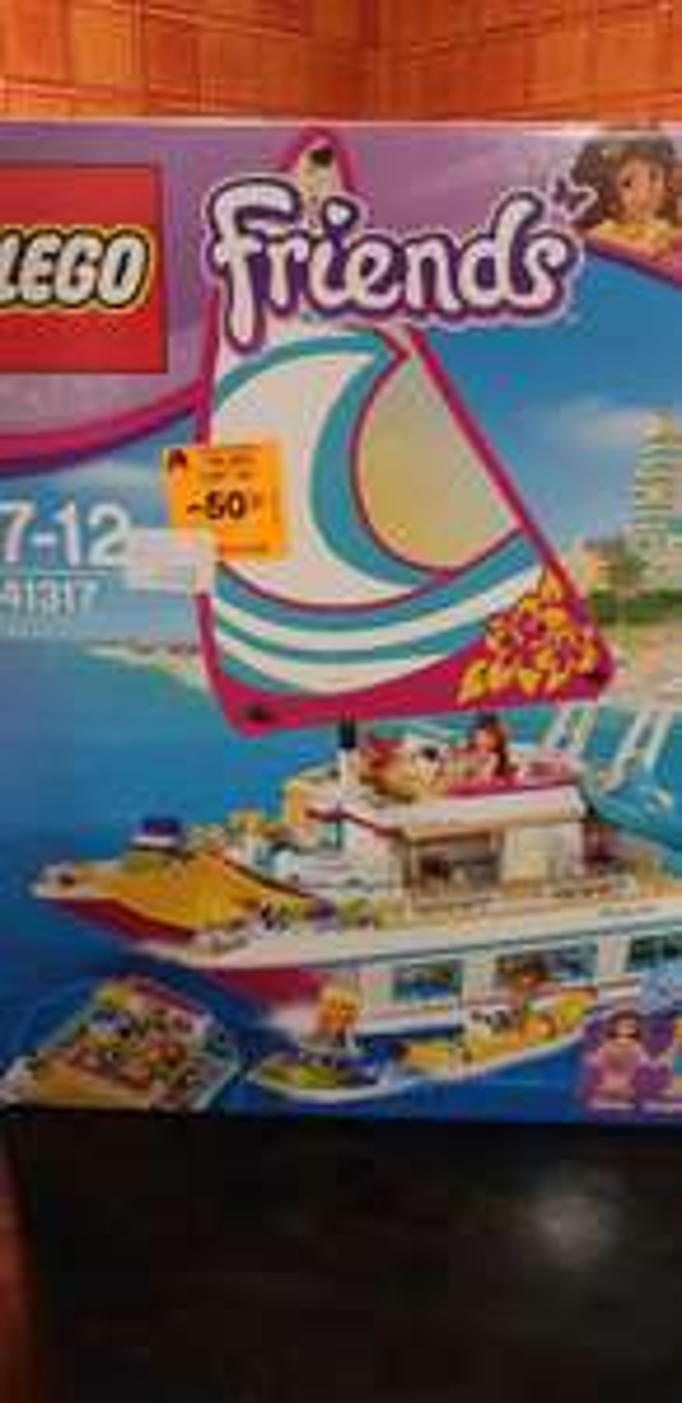 Jouet Lego Friends 41317 - Le catamaran -Faches-Thumesnil(59)
