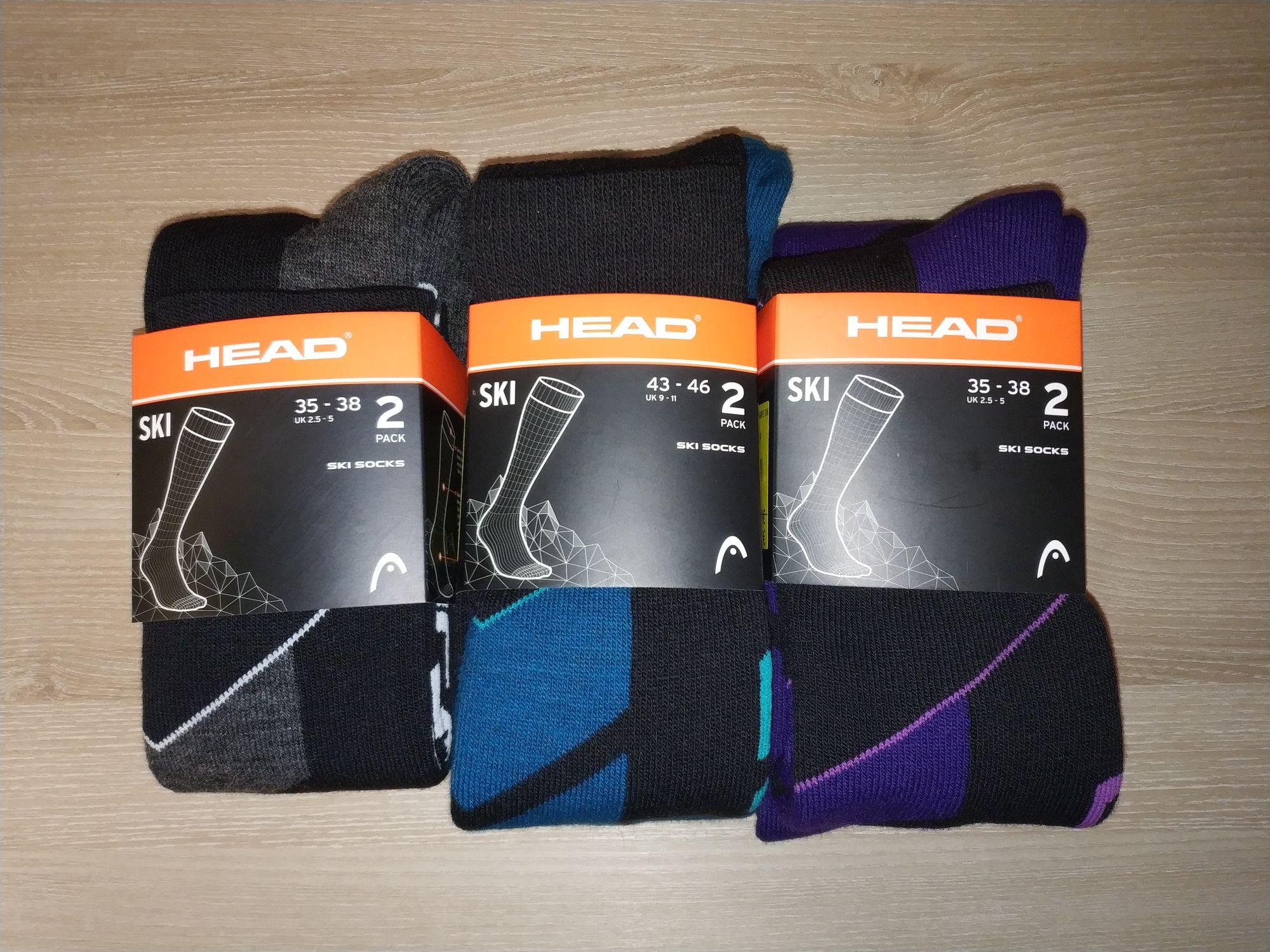 Lot de 6 paires de chaussettes de ski Head - Ekosport Gap (05)