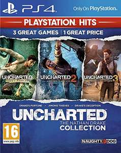 Jeu Uncharted Collection sur PS4