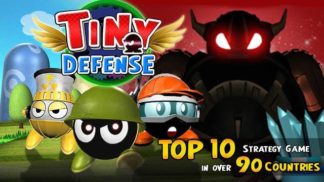 Sélection de 4 jeux gratuits sur iOS - Ex : Tiny Defense gratuit (au lieu de 2.99€)