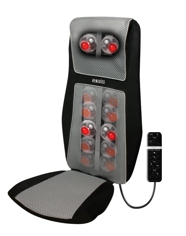 Siège de massage Shiatsu HoMedics SBM-600H-E avec masseur d'épaules intégré