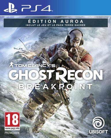Sélection de jeux PS4 et Xbox One en promotion - Ex: Jeu Tom Clancy's Ghost Recon Breakpoint Édition Auroa sur PS4