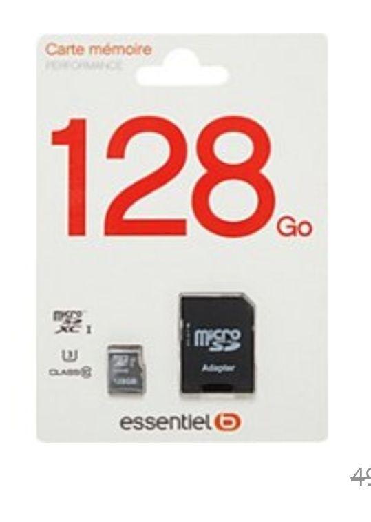 Carte Micro SD EssentielB Performance - 128 Go