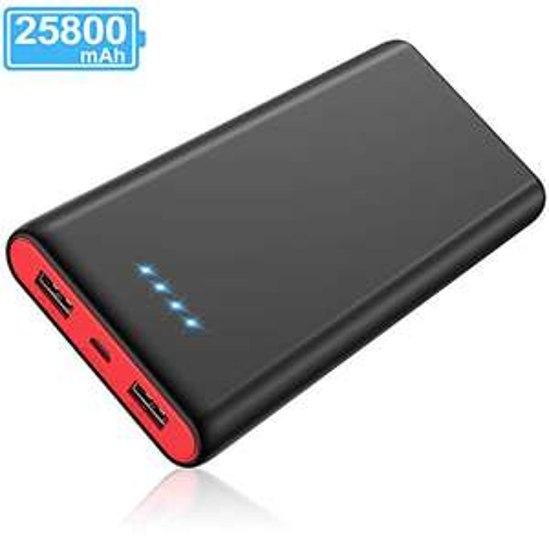 Batterie externe Yacikos - 25800mAH, 2 Ports USB (Vendeur tiers)