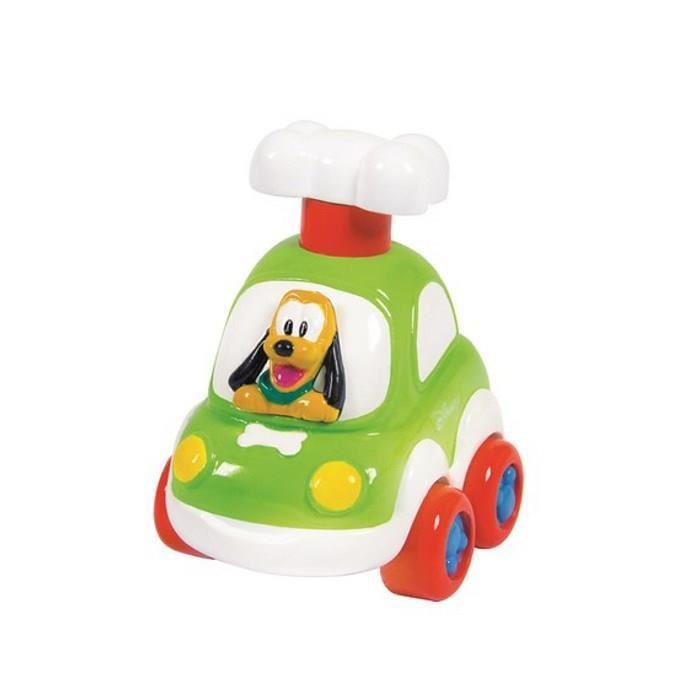 1 Voiture Disney Pluto Press & Go Clementoni achetée = 1 offerte, soit les 2