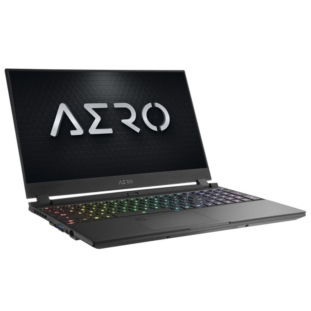 "PC portable 15.6"" Gigabyte Aero 15 OLED - 4K (3840 x 2160) OLED - Core i7-9750H Hexa Core 2.6 GHz - 16 Go DDR4 - SSD 512 Go - GTX 1660 Ti"
