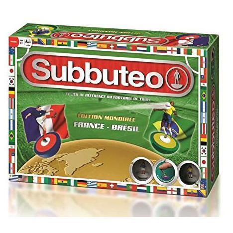 Jeu Subbuteo France-Bresil Megableu - Edition mondiale