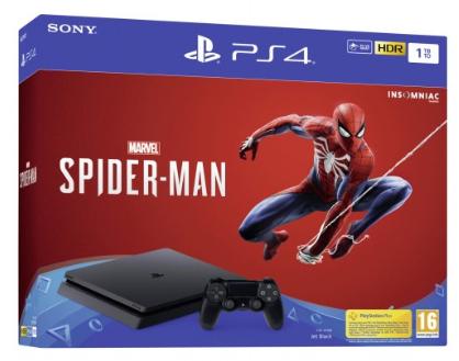 Pack Console PS4 + Spider-man (144,95€ avec PARIS2019 - 75)