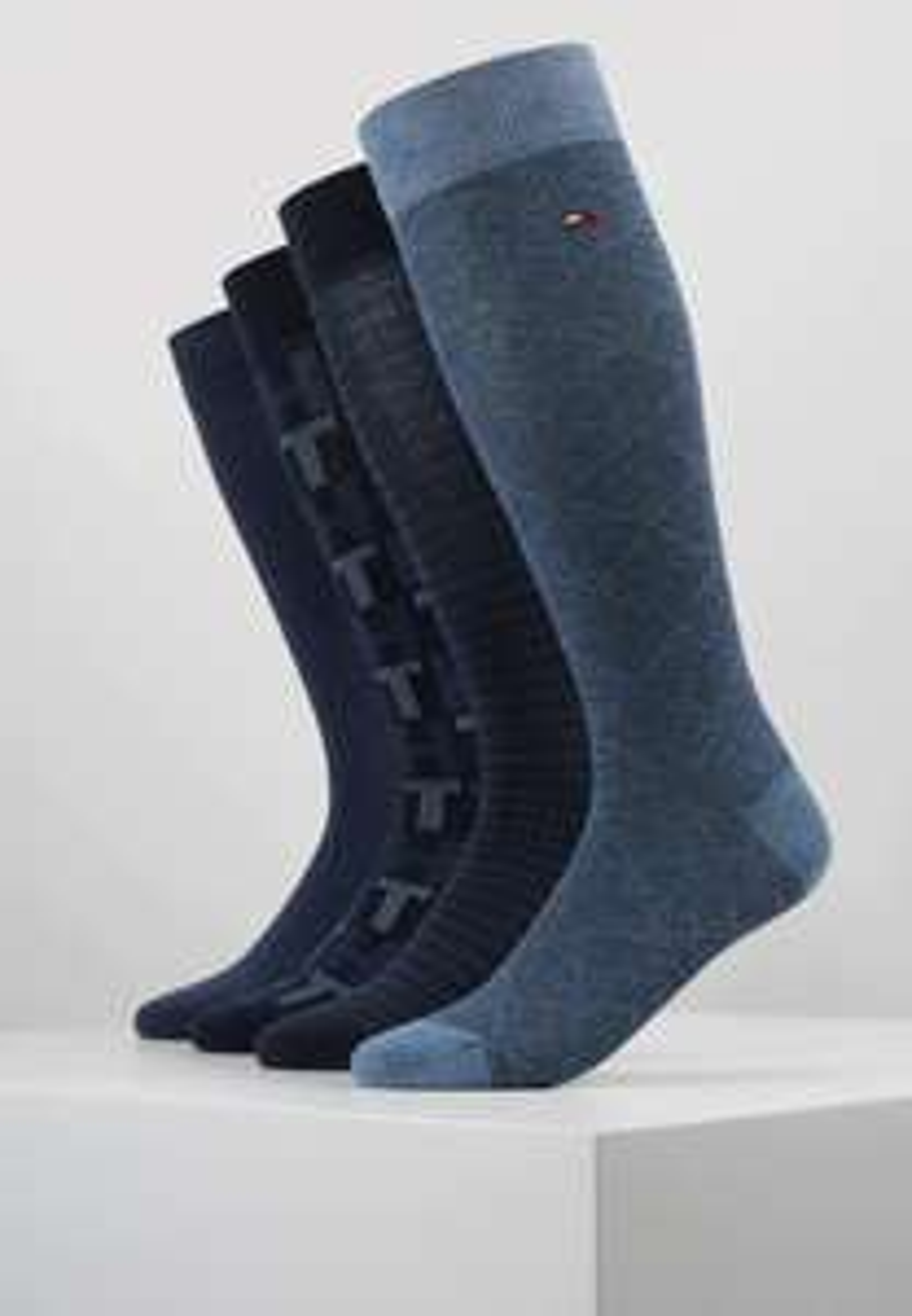 Pack 4 paires de chaussettes Tommy Hilfiger - 39/42, 43/46