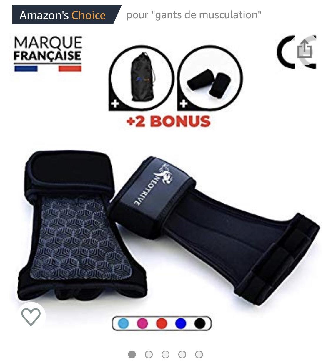 Gants de Musculation Neotrive Crossfit - Tailles au choix (Via Coupon - Vendeur Tiers)