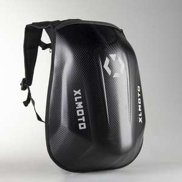 Sac à Dos Moto Imperméable XLMoto Slipstream Look Carbone