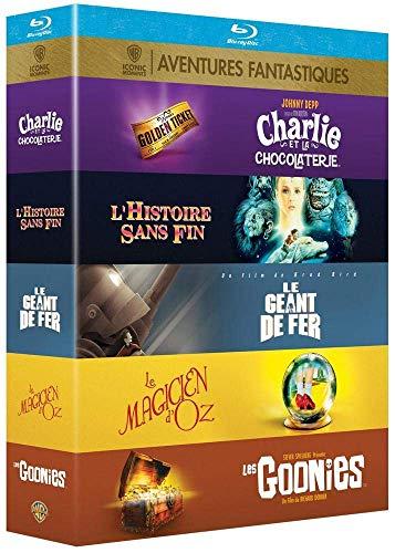 """Coffret Blu-Ray 5 Films """"Iconiques des Aventures Fantastiques"""" (vendeur tiers)"""