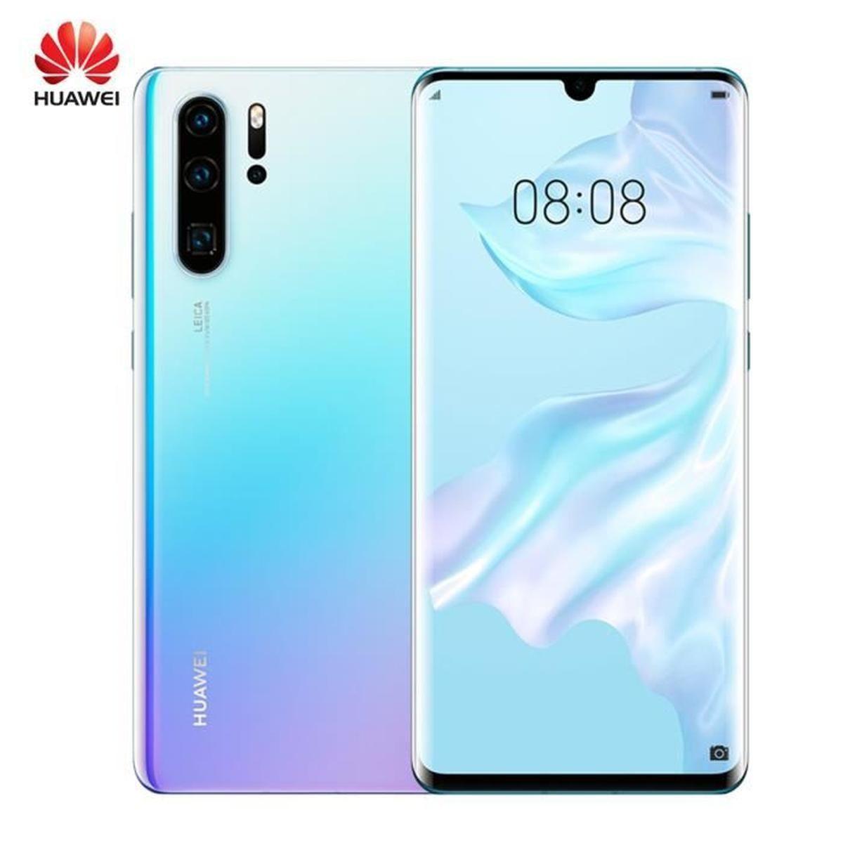 Smartphone 6.47'' Huawei P30 Pro - 8 Go RAM, 128 Go (+59.89€ en SuperPoints)