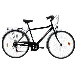 "Vélo de ville 26"" Top Life City 40 - Noir"