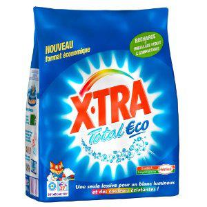Paquet de lessive X-Tra Total Eco Caps x20 100% remboursé (ODR)
