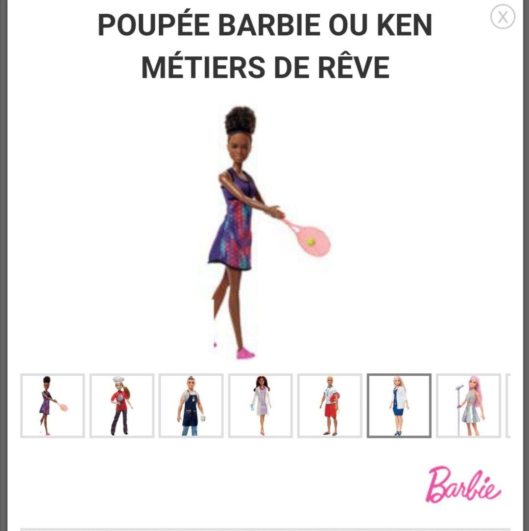 Poupee barbie vie de rêvé