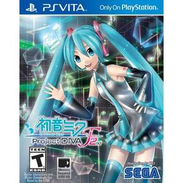 Hatsune Miku : Project Diva F 2nd sur PS Vita (Jeu en anglais)