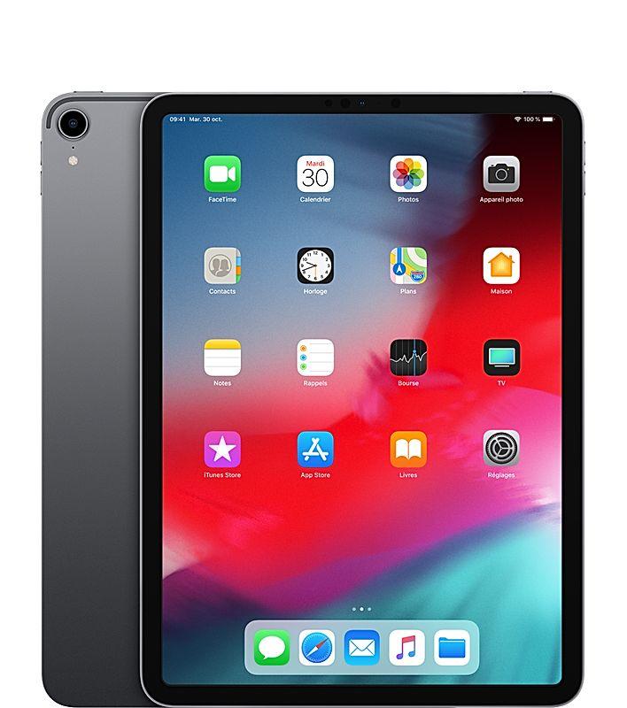 "Tablette Apple 11"" iPad Pro (2018) - Wi-Fi, 256 Go, Gris (+98.34€ en superpoint)"