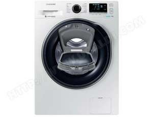 Lave-linge Samsung WW90K6414QW (AddWash & Eco Bubble) - 9 kg, 1400 trs/min, A+++, Moteur Digital Inverter (Via ODR de 70€)