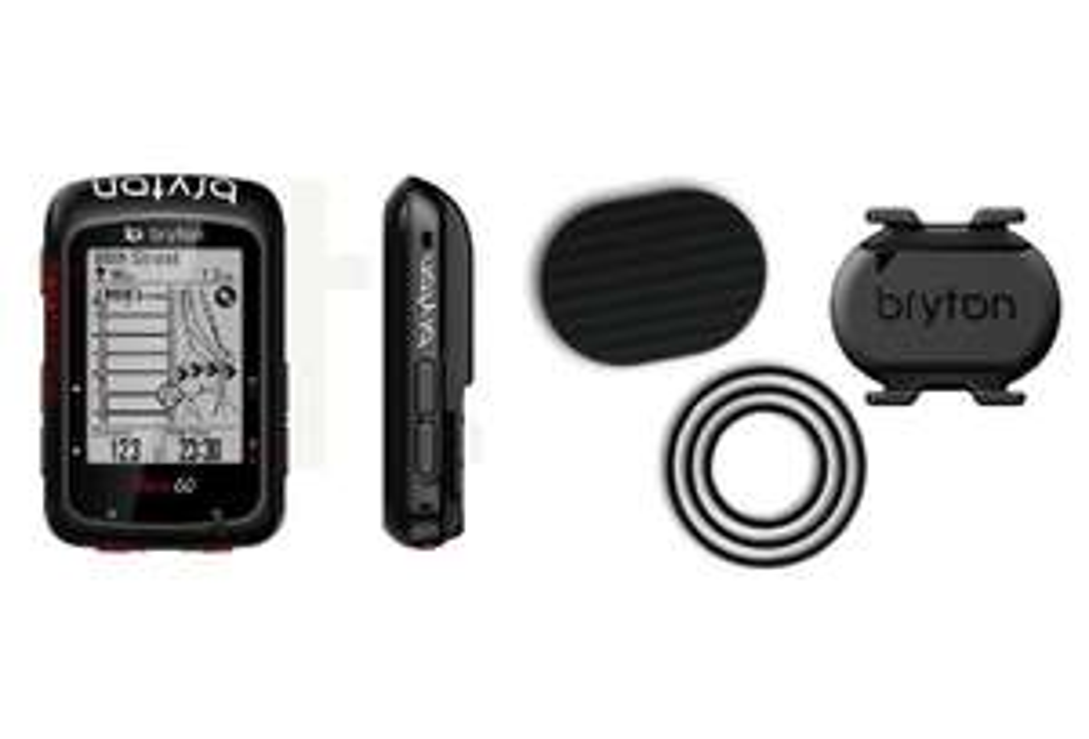 Compteur vélo GPS Bryton Aero 60C + Capteur de Cadence