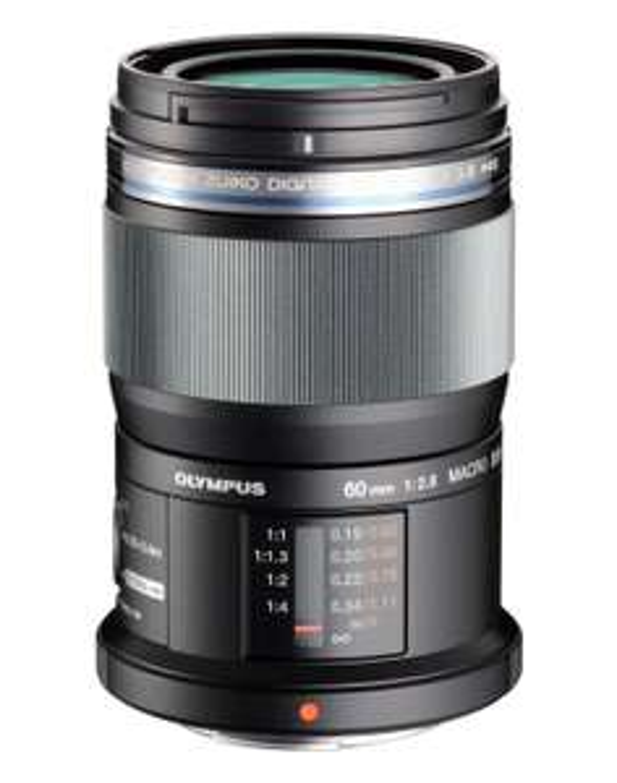 Objectif Olympus M.Zuiko Digital ED - 60mm, f2.8, Macro, Noir (ODR de 100€)