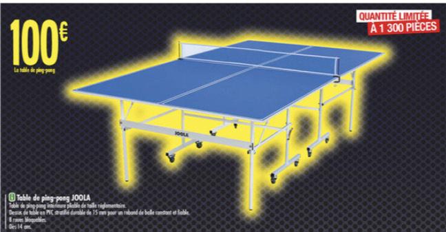 Table Ping Pong Joola