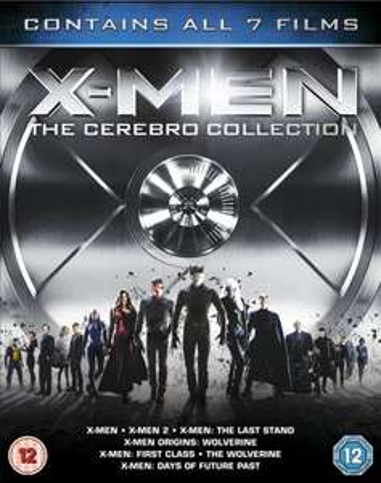Coffret Blu-Ray Collector X-Men : The Cerebro Collection (7 films - VO uniquement)