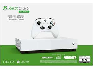 Console Microsoft Xbox One S All Digital 1 To (LetzShop.lu - Frontaliers Luxembourg)