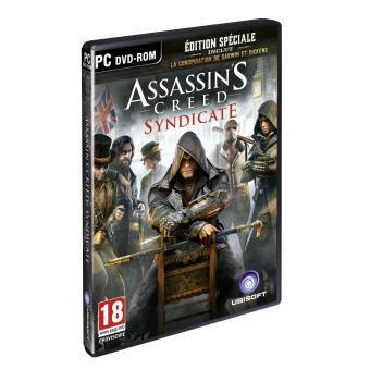Assassin's Creed Syndicate sur PC + Casque Mad Catz F.R.E.Q.M + Mug