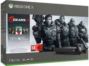 Console Microsoft Xbox One X (1 To) + Gears Of War 1,2,3,4,5 (Letzshop.lu - Frontaliers Luxembourg)