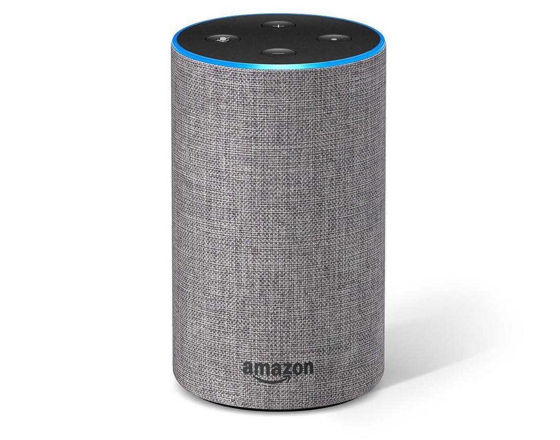 Enceinte connectée Amazon Echo 2 (2ème génération) - Gris ou Noir