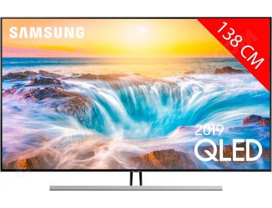 "TV QLED 55"" Samsung QE55Q85R - 4K UHD, Dalle 100Hz, HDR 1500, Smart TV (Via ODR de 200€)"