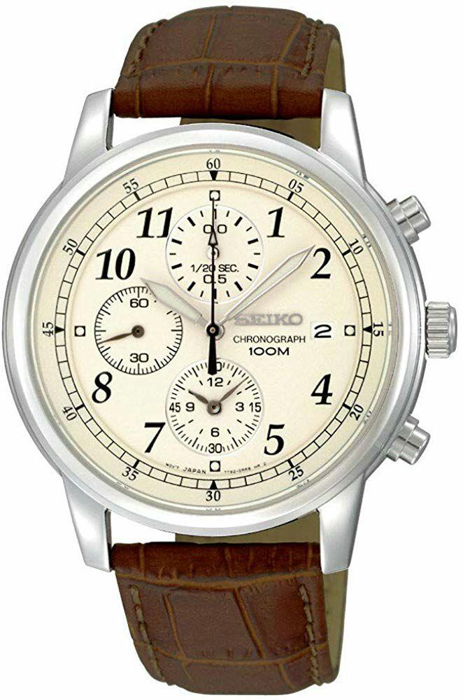 Montre Chronographe Quartz Seiko SNDC31P1 pour Hommes