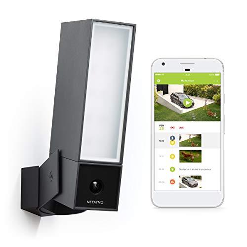 Caméra de Surveillance Extérieure Intelligente Netatmo