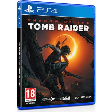 Sélection de jeux en promotion - Ex: Shadow of the Tomb Raider sur PS4