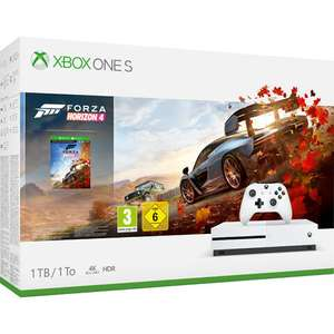 Pack Console Microsoft Xbox One S (1 To) + Forza Horizon 4
