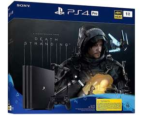 Console Sony PS4 Pro - 1 To + Death Stranding