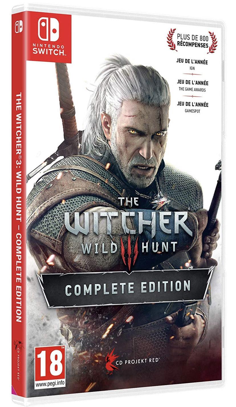 The Witcher 3 Complete Édition sur Nintendo Switch