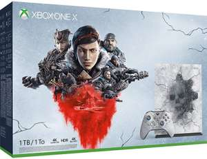 Pack Console Xbox One X 1 To Edition Limitée Gears 5 Ultimate (+ 49.50€ en SuperPoints)