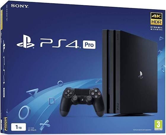 Console Sony PS4 Pro - 1 To, Noir ou Blanc (264.01€ avec le code BFSTART12)