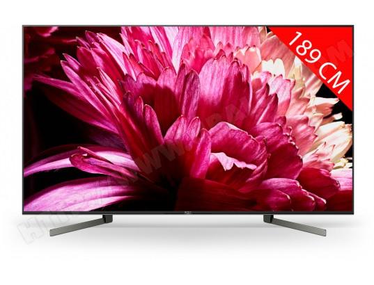 "TV 75"" Sony KD75XG9505BAEP - 4K UHD, Dolby Atmos, Smart TV"