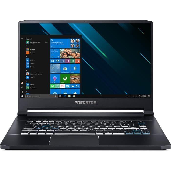 "PC Portable 15.6"" Predator Triton 500 PT515-51-59CQ - I5-9300H 2.4 GHz 16 Go RAM 256 Go SSD + Souris (Via ODR + 220.20€ en SuperPoints)"