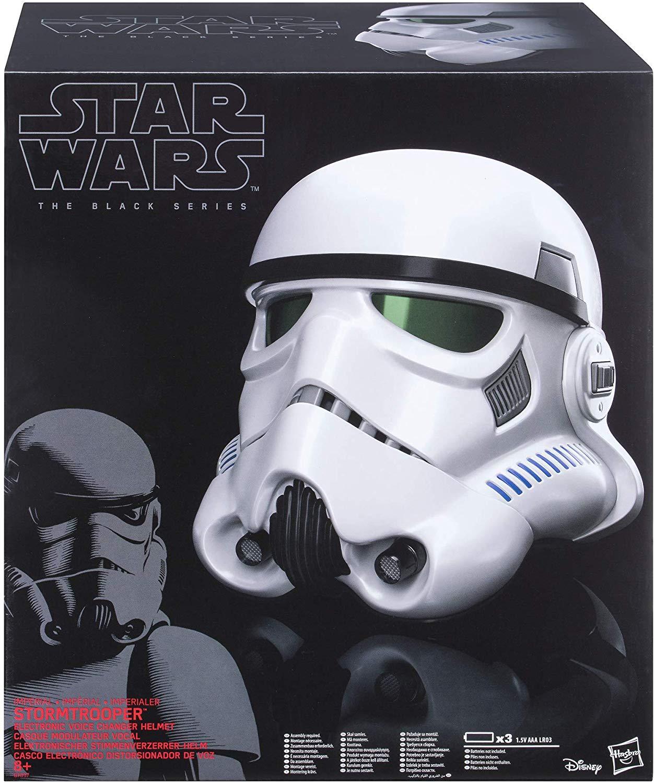 Casque Star Wars Black Series Stormtrooper